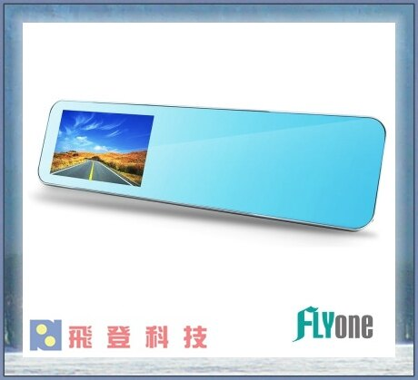 【後照鏡型行車紀錄器】32G加送後鏡頭 FLYone RM300 ADAS智能輔助+倒車顯影 前後雙鏡 後視鏡行車記錄器 含稅公司貨開發票