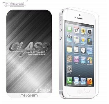 【UNIPRO】Metal-Slim iPhone 5 5S SE 0.33mm 9H 耐磨防刮防指紋疏油疏水鋼化玻璃貼