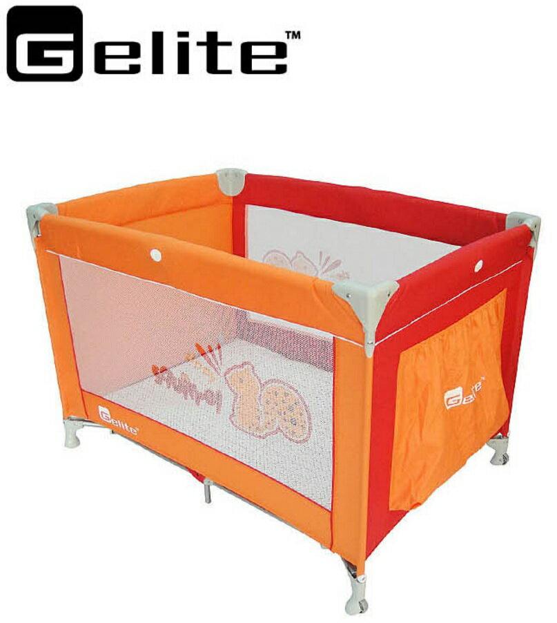 【淘氣寶寶】babybus 松鼠遊戲床 (橘色)