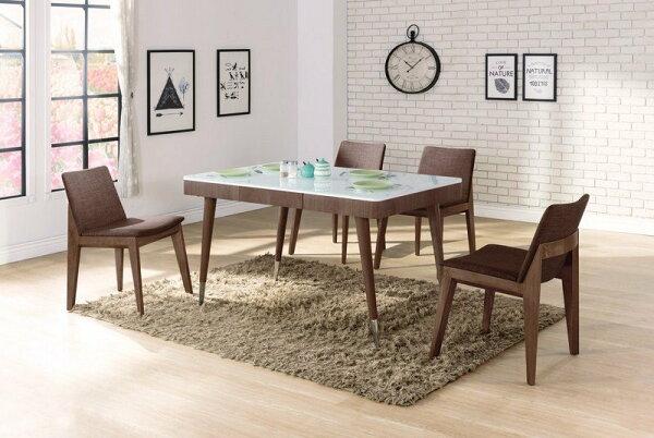 【石川家居】YE-A464-01克雷格4.6尺餐桌(不含餐椅及其他商品)台北到高雄搭配車趟免運
