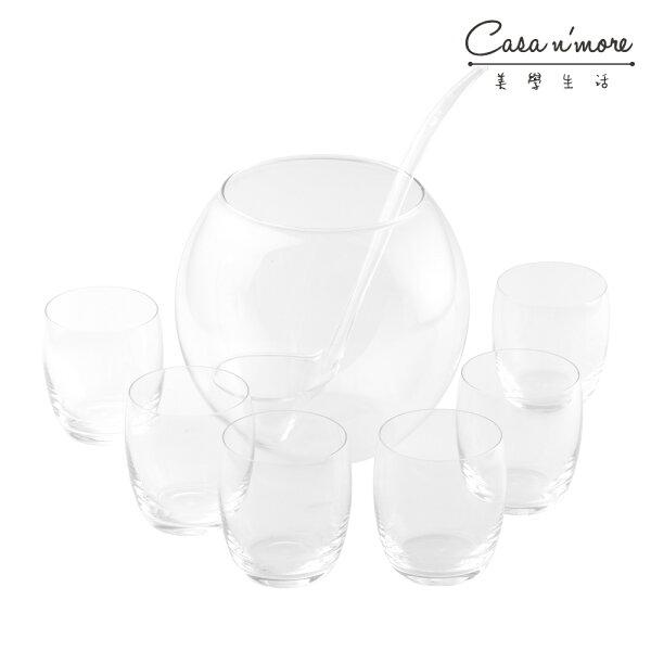 WMF雞尾酒玻璃8件組玻璃杯玻璃碗玻璃湯勺