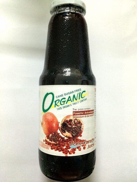 味榮 展康 土耳其100%有機石榴汁 1000ml/瓶