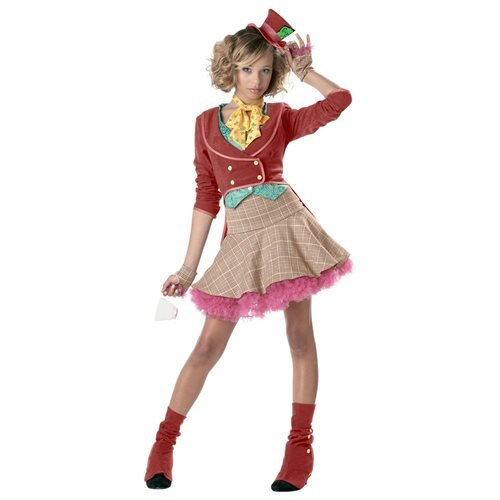 The Mad Hatter Teen Costume 0