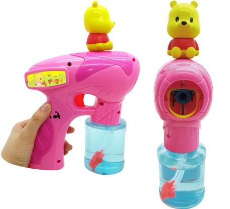 小熊維尼音樂泡泡槍 迪士尼 泡泡 玩具 日貨 正版授權 J00013716