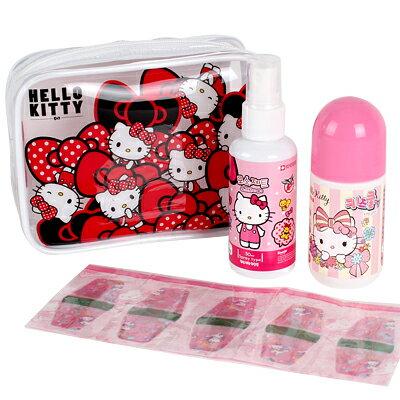 X射線【C840563】Hello Kitty外出防蚊組,兒童防蚊貼/3M防水背膠貼片/戶外防蚊/香茅精油