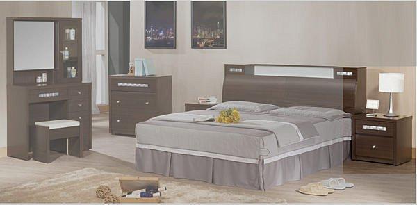 【尚品傢俱】791-05洛德胡桃床頭櫃床邊櫃收納櫃