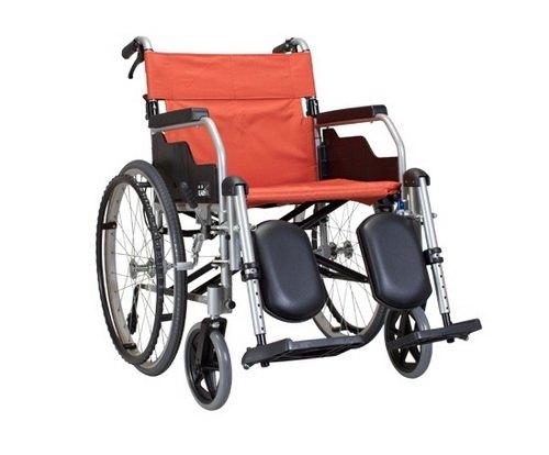 【 贈好禮 四選一 】康揚 鋁合金輪椅 KM-1510 經濟升撥腳型 鋁合金手動輪椅