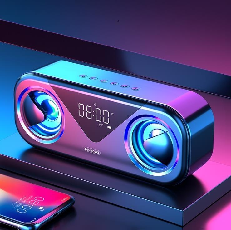 藍芽音箱無線家用手機藍芽小音響超重低音炮3D環繞大音量雙喇叭 凡卡時尚
