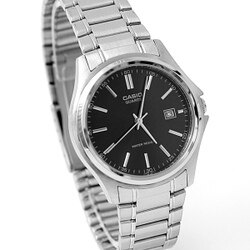 CASIO卡西歐經典黑面不鏽鋼錶 柒彩年代【NEC30】