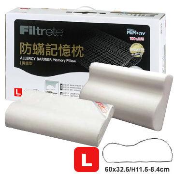 3M Filtrete 防蹣記憶枕-機能型(L)
