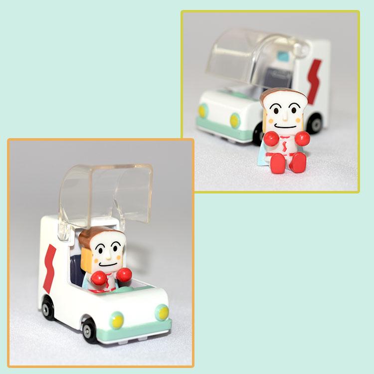 吐司麵包超人 合金小汽車 日本正版 GO GO MINI CAR!