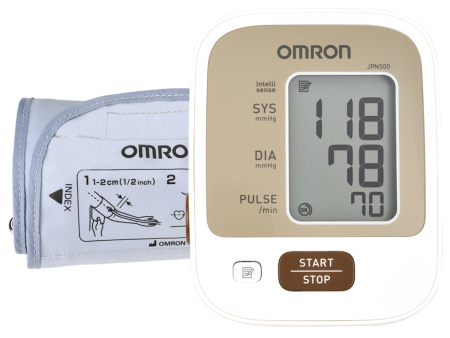 【送美國樂扣樂扣不鏽鋼保鮮盒】歐姆龍血壓計 JPN500 JPN-500熊賀康醫材