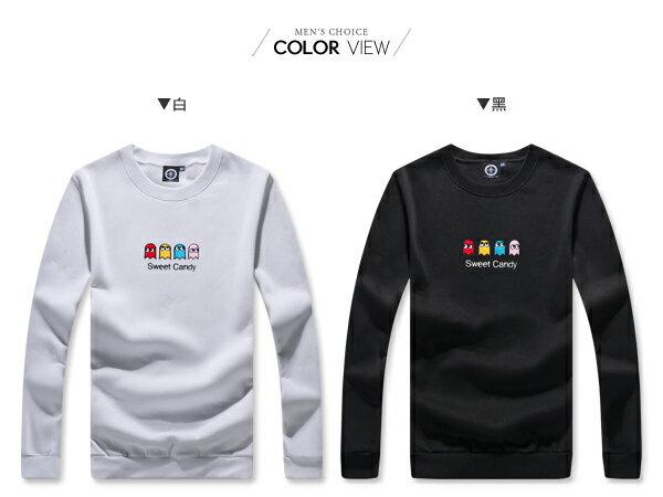 ☆BOY-2☆ 【KK6855】休閒俏皮小精靈圓領長袖T恤 1