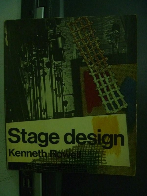 【書寶二手書T7/藝術_OQV】Stage Design_Kenneth Rowell_1971_289277582