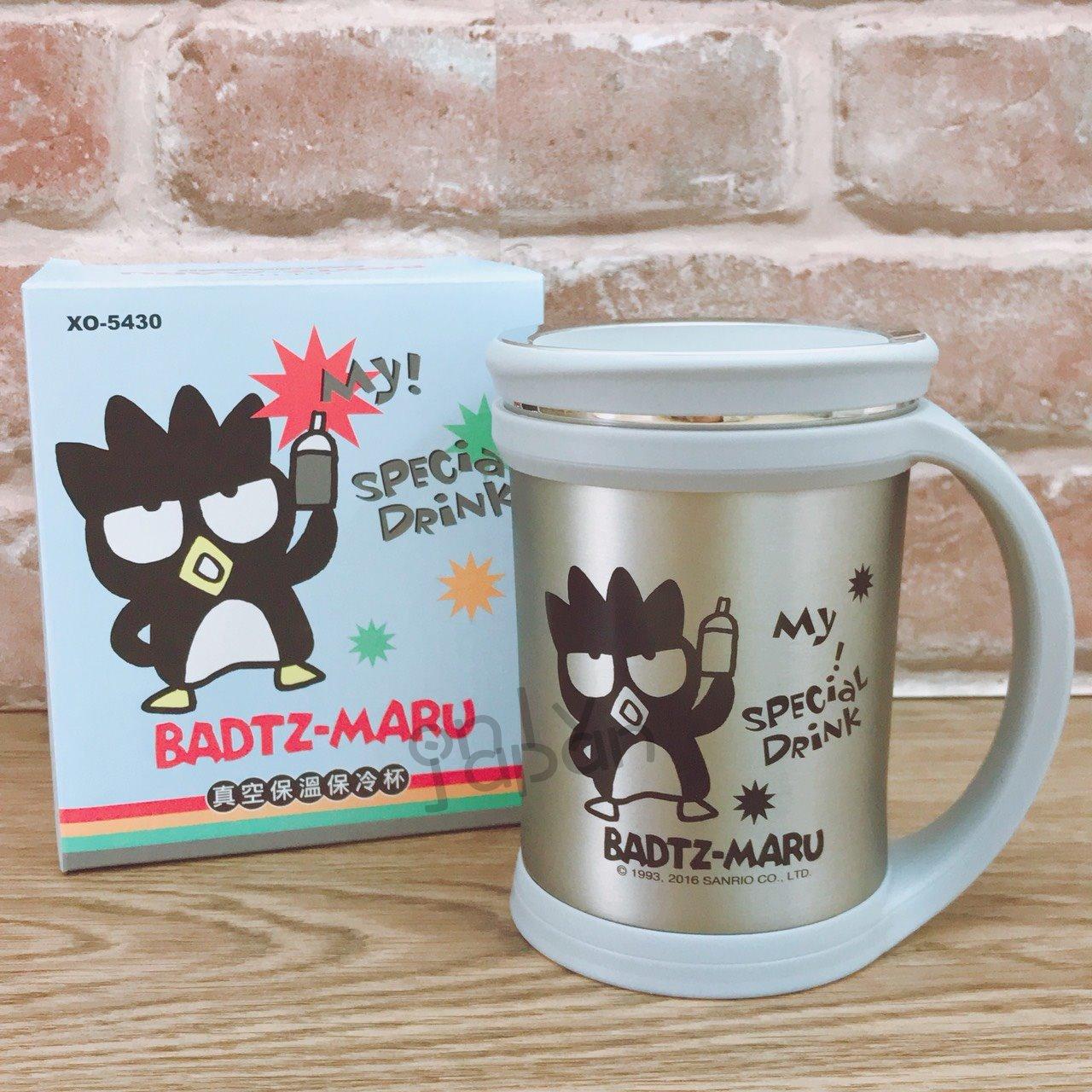 【真愛日本】18010600002 真空保溫保冷杯-XO 三麗鷗家族 酷企鵝 日用品 保溫杯 保冷杯 居家生活 杯子