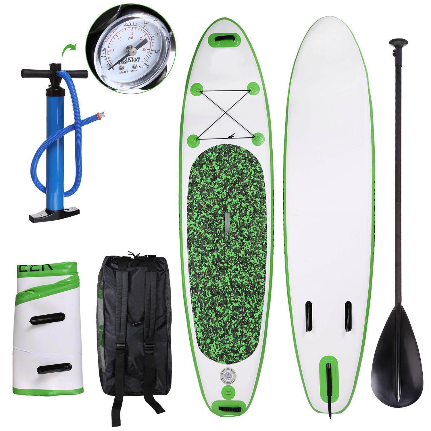 SUP Tower Stand Up Inflatable Paddle Board Bundle Adventurer Water Skiing 4