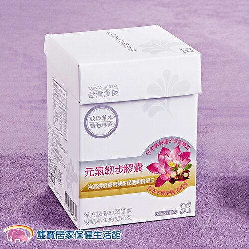 台灣漢藥 元氣韌步膠囊 二型膠原蛋白+葡萄糖胺+乳油木果