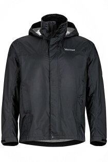 【【蘋果戶外】】marmot41200-0001黑美國男PreCip土撥鼠防水外套類GORE-TEX防風外套風衣雨衣風雨衣