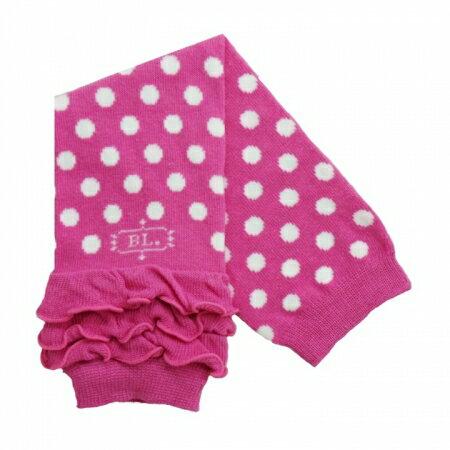 ★衛立兒生活館★美國 BabyLegs 嬰幼兒襪套 (粉紅點點)