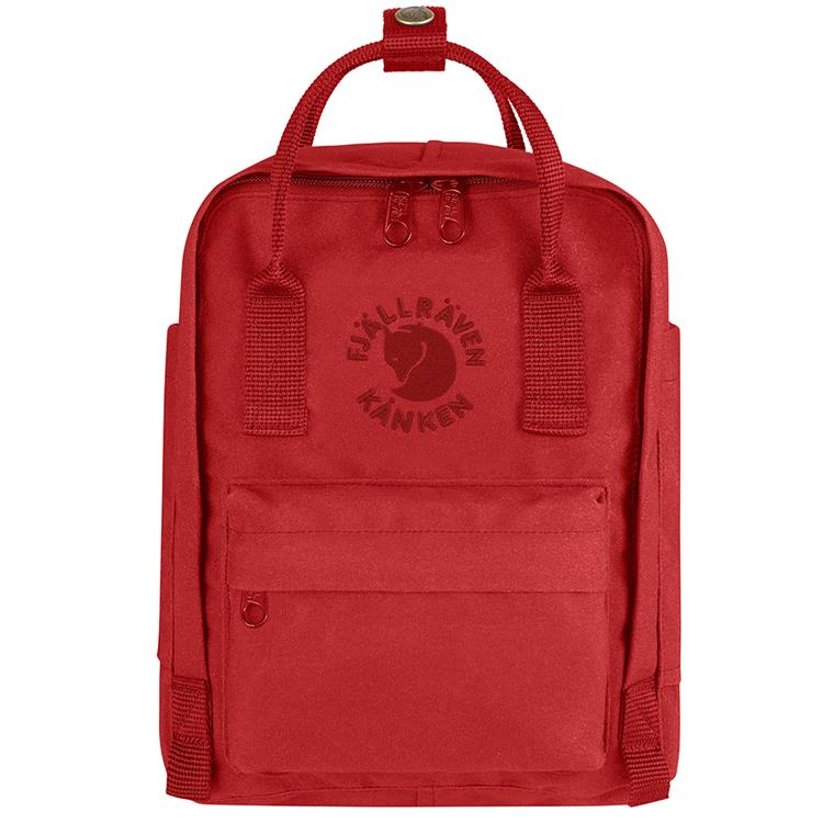Fjallraven 小狐狸 Re-Kanken mini 瑞典書包/空肯包/方型後背包 23549 320 紅色 台北山水
