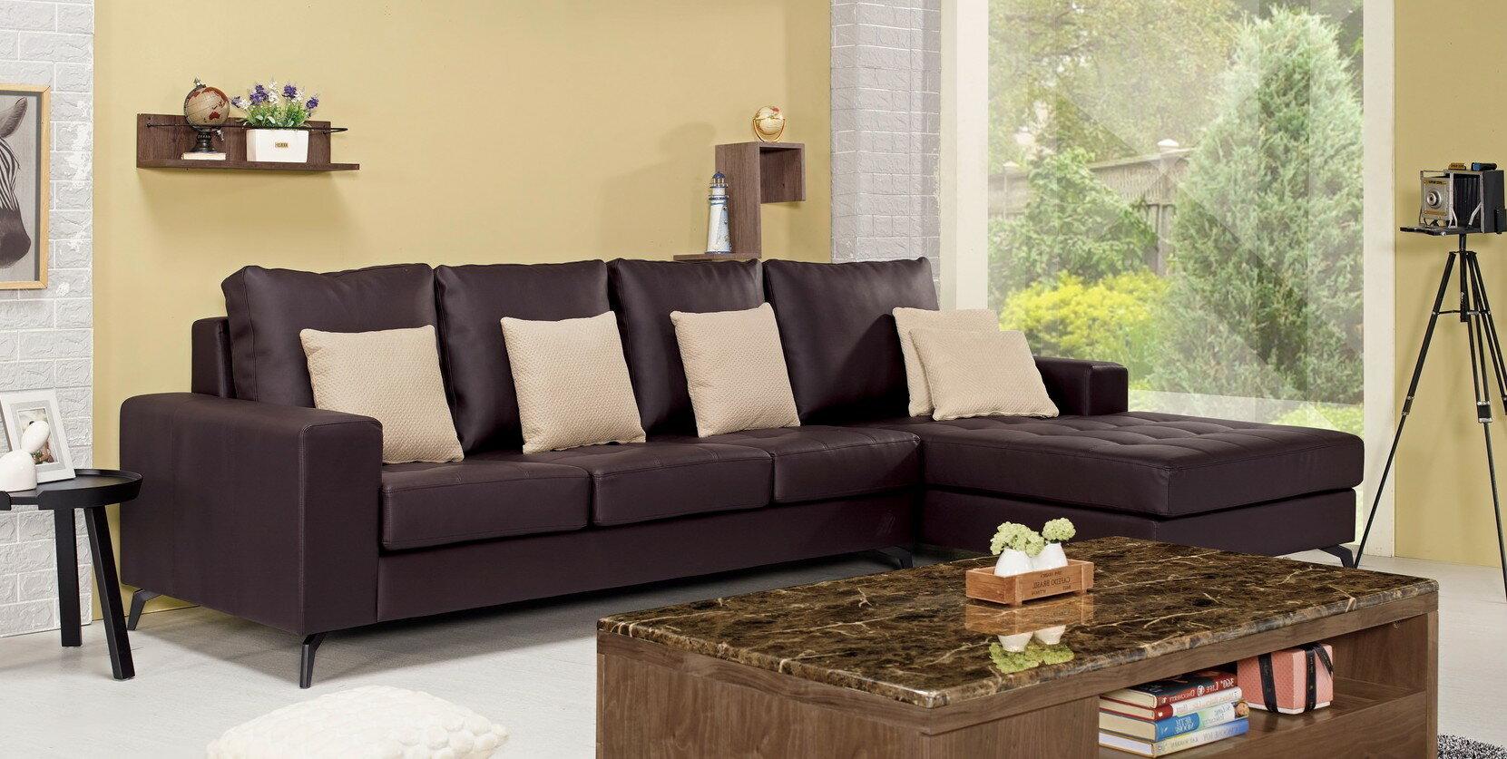【簡單家具】,G700-3 羅伯特L型沙發(全組),大台北都會區免運費