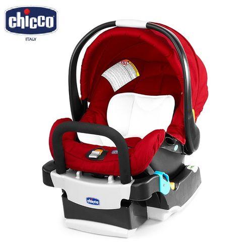 ★衛立兒生活館★Chicco Key Fit 手提汽車座椅/提籃汽座 (亮麗紅)