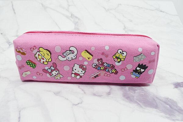 X射線【C667060】Hello Kitty 屁屁小布筆袋-綜合,鉛筆盒  筆盒  筆袋  筆筒  文具  收納