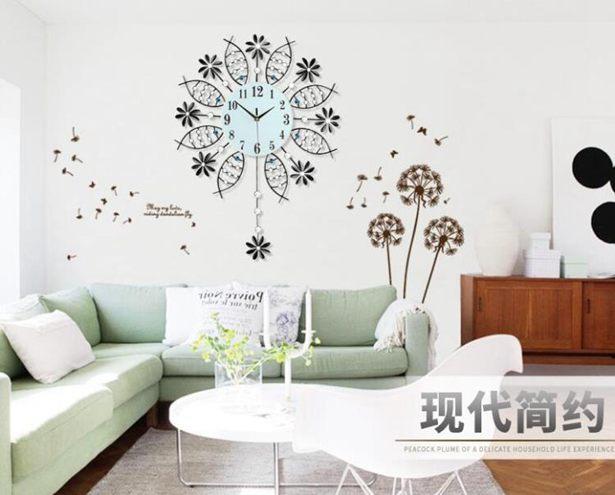 歐式鐘錶掛鐘客廳現代簡約創意家用大氣時尚個性靜音臥室時鐘裝飾全館折扣限時促銷