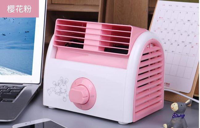 迷你風扇家用桌面臺式小風扇冷空調電風扇冷風機大風力全館折扣限時促銷