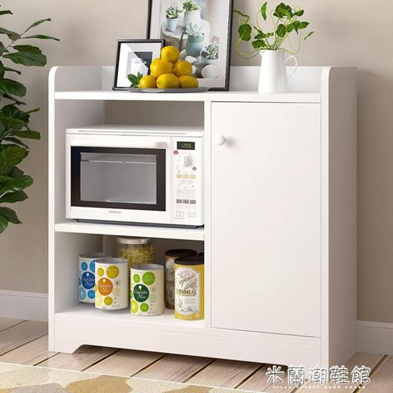 卓禾簡約現代餐邊柜櫥柜碗柜微波爐柜收納柜廚房柜子簡易客廳柜全館促銷限時折扣