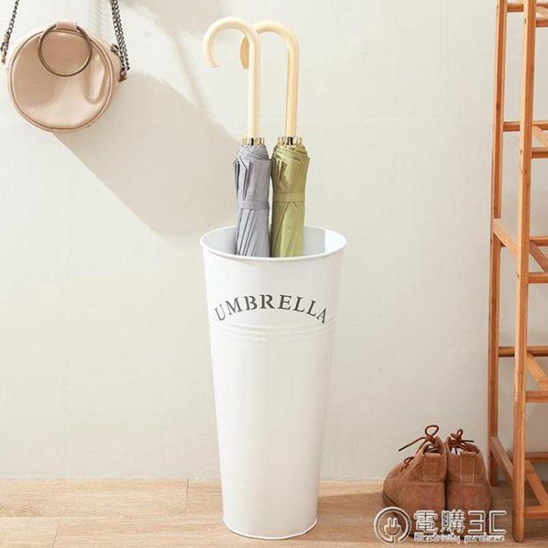 雨傘桶家用 歐式現代時尚簡約家居鐵藝辦公雨傘架 創意雨傘收納桶全館特惠限時促銷