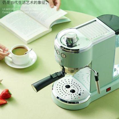 【618購物狂歡節】咖啡機 馬克西姆夏朗德MKA71復古咖啡機意式濃縮半自動家用小型蒸汽奶泡全館促銷限時折扣