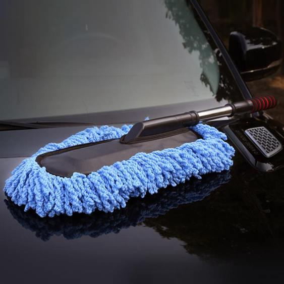 洗車拖把不傷車專用刷車刷子除塵車撣車用掃灰伸縮式汽車冼車工具