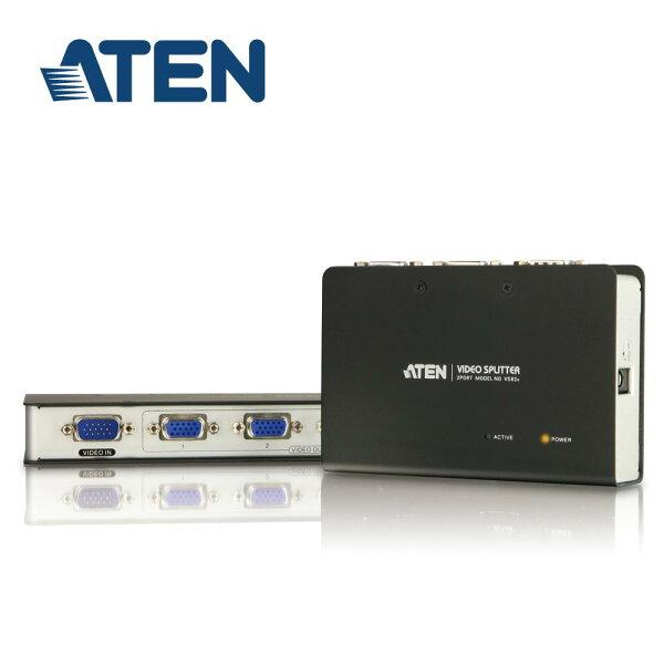 【迪特軍3C】ATEN2埠VGA螢幕分配器鐵製(VS82-A)