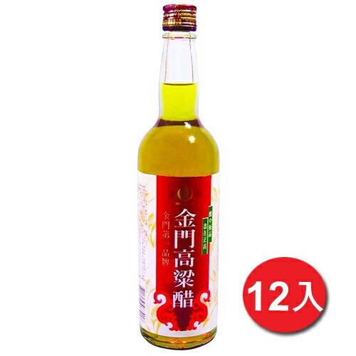 正高金門高粱醋600g*12【愛買】