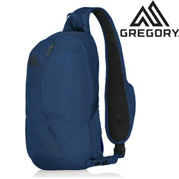 GregorySketch8都會休閒多夾層運動側背包肩背包683951439印第哥藍