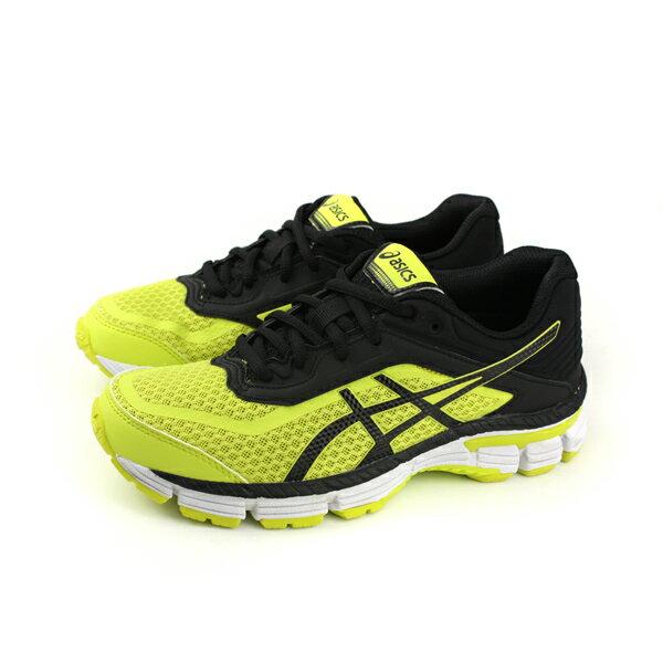 HUMAN PEACE:亞瑟士ASICSGT-20006GS運動鞋童鞋黑黃大童C805N-8990no288