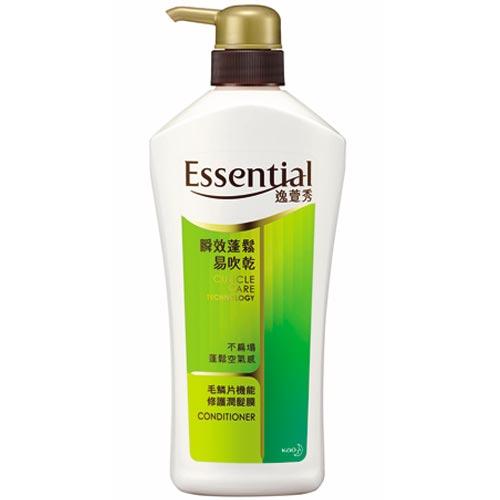Essential逸萱秀瞬效蓬鬆易吹乾潤髮膜700ml