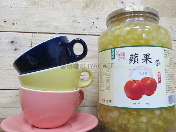 《愛鴨咖啡》韓國原裝 韓味不二 蜂蜜蘋果茶1.9kg