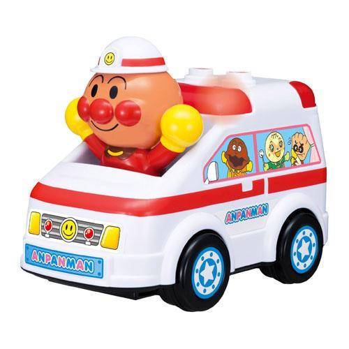 日本代購預購滿600元免運Anpanman麵包超人救護車玩具聲響玩具交通玩具兒童玩具707-715