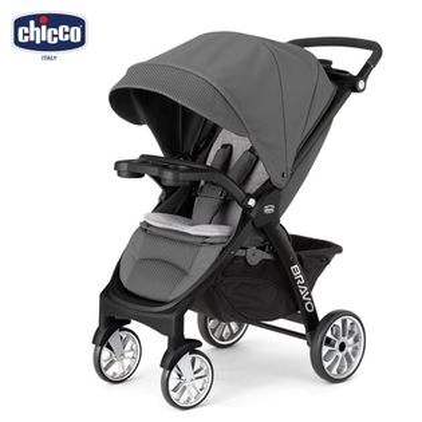 chicco-Bravo極致完美手推車限定版-尊爵灰絕美紅『121婦嬰用品館』