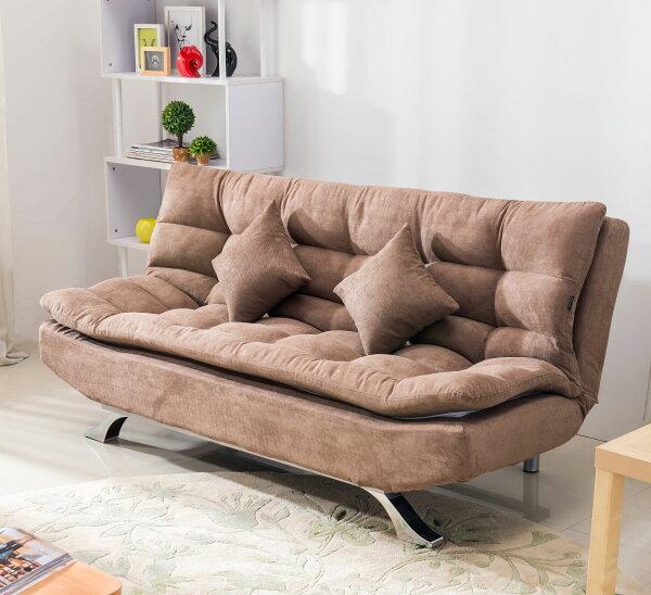 尚品傢俱:【尚品傢俱】JF-202-1蘇菲亞咖啡布沙發床