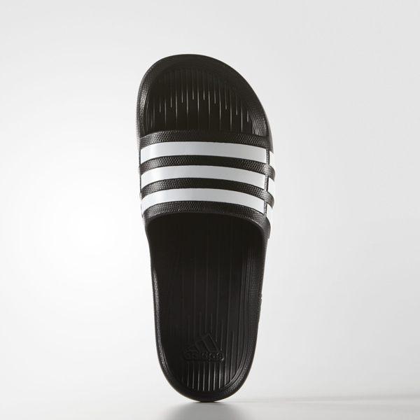Adidas Duramo Slide 男鞋 女鞋 拖鞋  防水 一體成型 黑 ~ 世界~