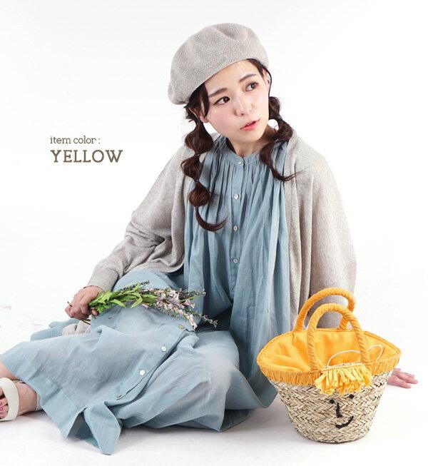 日本e-zakka / 流蘇微笑設計手提包 / 21103-1900075 / 日本必買 代購 / 日本樂天直送(4500) 6