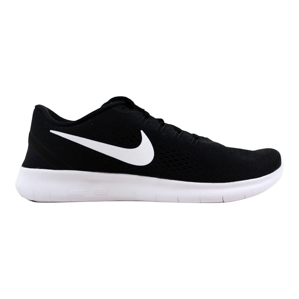 d722ae5c95ec Kixrx  Nike Free RN Black White-Anthracite 831509-001 Women s Size ...