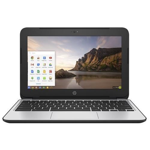 """HP Chromebook 11 G4 - Education Edition - Celeron N2840 / 2.16 GHz - Chrome OS - 4 GB RAM - 16 GB eMMC - 11.6"""" TN 1366 x 768 ( HD ) - HD Graphics - 802.11ac - Black 0"""