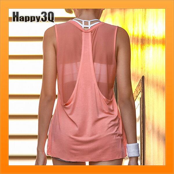 無袖運動背心跑步罩衫健身服裝跑步透氣上衣健身背心-白灰黑粉紅黃S-L【AAA4186】