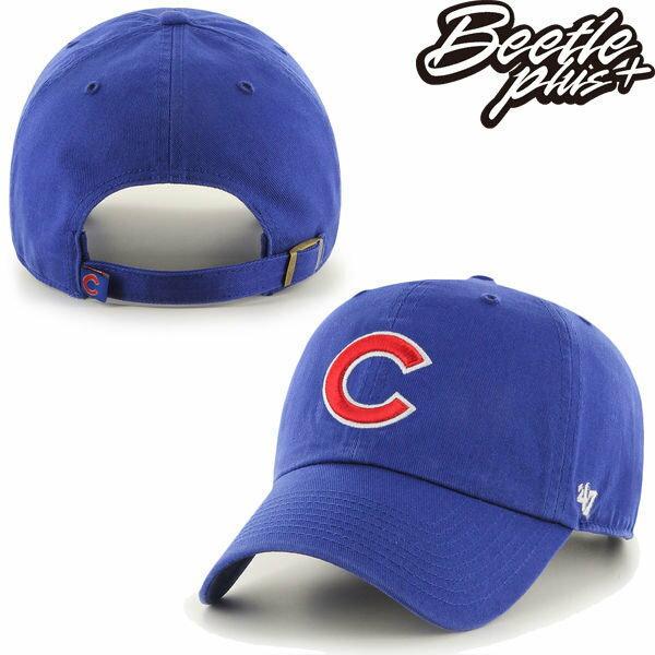 BEETLE 47 BRAND 老帽 芝加哥小熊 CHICAGO CUBS DAD 職棒 大聯盟 MLB 藍 紅字 MN-409 1