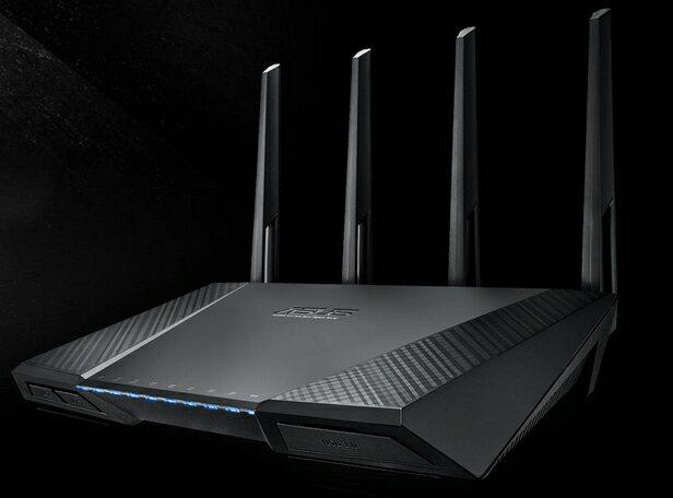 ASUS RT-AC87U 雙頻 Wireless-AC2400 Gigabit 路由器/分享器