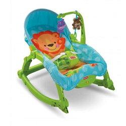 【狂降】Fisher-Price 費雪 可愛動物可攜式兩用安撫躺椅(公司貨)【悅兒園婦幼生活館】